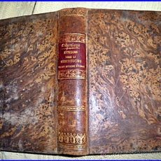 Libros antiguos: 1866: ESTUDIO SOBRE LA CONTITUCIÓN DE ESTADOS UNIDOS. EDITADO EN BUENOS AIRES.DIFÍCIL DE ENCONTRAR.. Lote 30905559