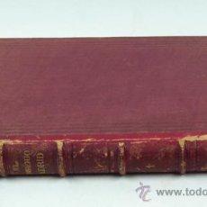 Libros antiguos: EL ANTIGUO MADRID,PASEOS HISTÓRICO-ANECTDÓTICOS POR LAS CALLES Y CASAS, TOMO PRIMERO. MADRID 1881. Lote 30978808