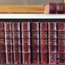 Libros antiguos: 1900.- EPISODIOS NACIONALES DE BENITO PEREZ GALDOS. 23 VOLUMENES. PRECIOSA ENCUADERNACION. Lote 31129826