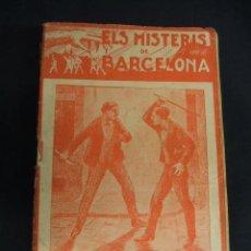 Libros antiguos: ELS MISTERIS DE BARCELONA - COMPLETO - 18 LIBRITOS - IMP. L'AVENÇ GRAFIC - BARCELONA - . Lote 31170057
