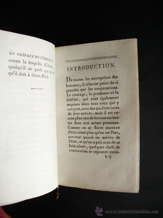 Libros antiguos: 1788-CONSPIRACIÓN DE LOS ESPAÑOLES EN VENECIA, EN 1618.ESPAÑA.ITALIA - Foto 4 - 32720384