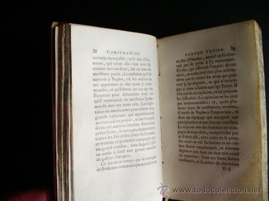 Libros antiguos: 1788-CONSPIRACIÓN DE LOS ESPAÑOLES EN VENECIA, EN 1618.ESPAÑA.ITALIA - Foto 6 - 32720384