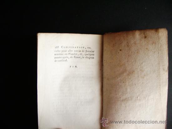 Libros antiguos: 1788-CONSPIRACIÓN DE LOS ESPAÑOLES EN VENECIA, EN 1618.ESPAÑA.ITALIA - Foto 7 - 32720384