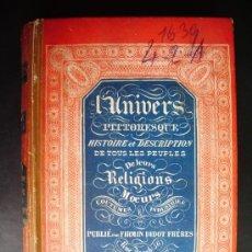 Libros antiguos: 1850-HISTORIA DE ITALIA.UNIVERSO PINTORESCO.FIRMIN DIDOT.PARÍS. Lote 32850064