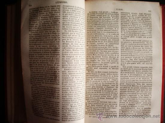 Libros antiguos: 1850-HISTORIA DE ITALIA.UNIVERSO PINTORESCO.FIRMIN DIDOT.PARÍS - Foto 6 - 32850064