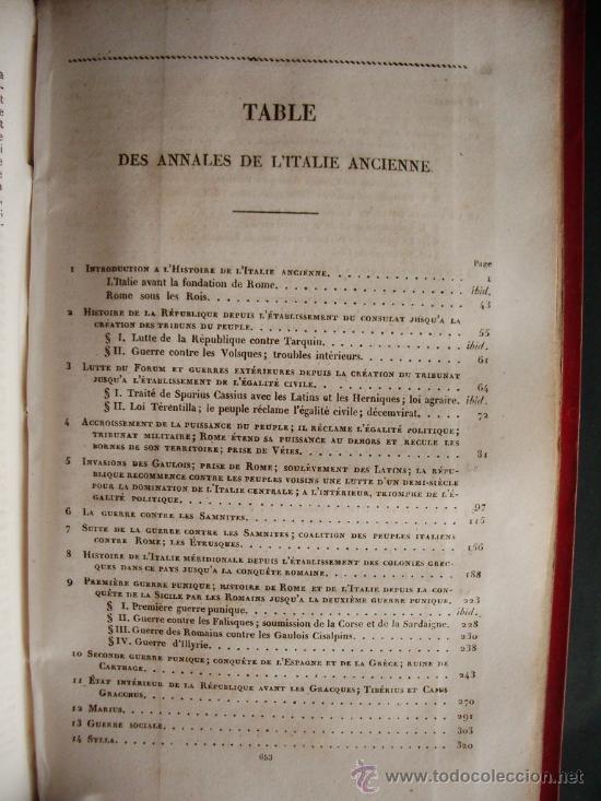Libros antiguos: 1850-HISTORIA DE ITALIA.UNIVERSO PINTORESCO.FIRMIN DIDOT.PARÍS - Foto 9 - 32850064