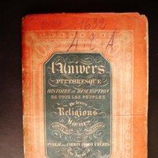 Libros antiguos: 1842-HISTORIA DE AUSTRIA.ÖSTERREICH.UNIVERSO PINTORESCO.FIRMIN DIDOT.PARÍS. Lote 32850113