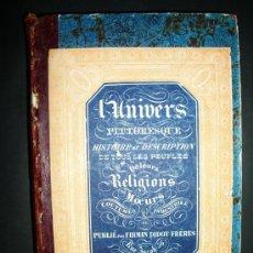 Libros antiguos: 1846-HISTORIA DE PORTUGAL.UNIVERSO PINTORESCO.FIRMIN DIDOT.PARÍS. Lote 32914062