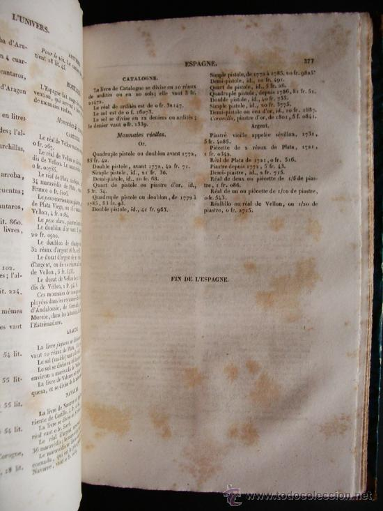 Libros antiguos: 1847-HISTORIA DE ESPAÑA.UNIVERSO PINTORESCO.FIRMIN DIDOT.PARÍS - Foto 8 - 32914191