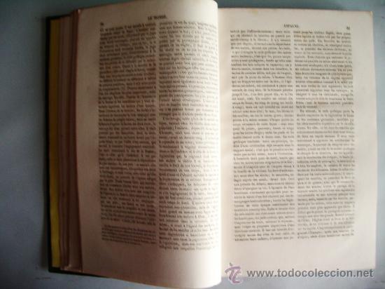 Libros antiguos: 1859-HISTORIA DE ESPAÑA.LE MONDE.PARÍS - Foto 5 - 32914716
