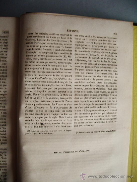 Libros antiguos: 1859-HISTORIA DE ESPAÑA.LE MONDE.PARÍS - Foto 6 - 32914716