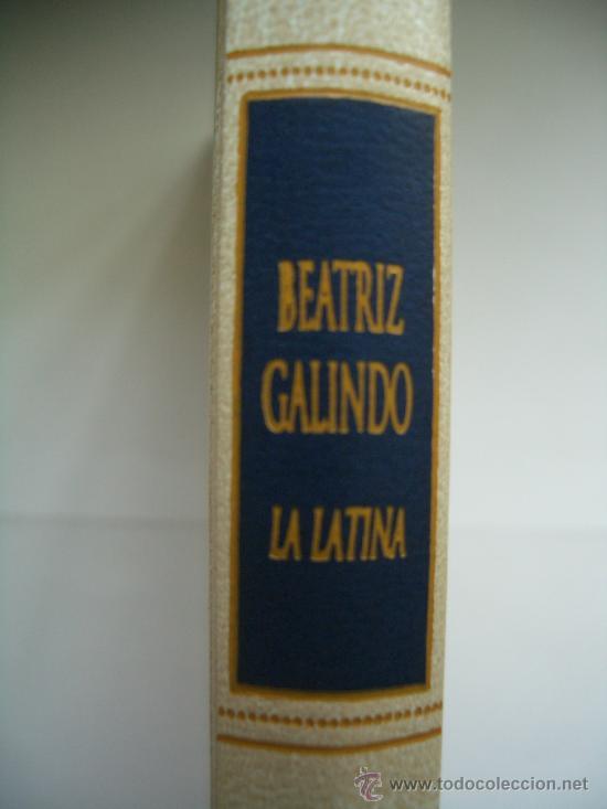 Libros antiguos: Libro Beatriz Galindo - La Latina - MADRID - Foto 2 - 207015856