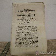 Libros antiguos: 1783- BONITO LIBRO LA HUMANIDAD Y SUS PROGRESOS. ALFONSO TORRES EDIT SALVADOR MANERO 1867. . Lote 34307539