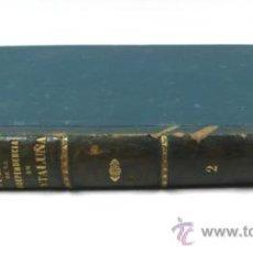 Libros antiguos: GUERRA DE LA INDEPENDENCIA EN CATALUÑA, A. BOFARULL. TOMO 2. BARCELONA 1887. 31X23 CM.. Lote 34397695