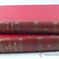 Libros antiguos: HISTORIA DEL GENERAL PRIM, F. J. ORELLANA, TOMO I Y II COMPLETO. BARCELONA 1872. 23X31 CM.. Lote 34568105