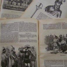 Libros antiguos: 1851 HISTORIA DE LA CONQUISTA DEL PERU * ADORNADA CON 50 GRABADOS * WILLIAM PRESCOTT. Lote 214181210