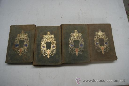 4 TOMOS, HISTORIA DE LA MONARQUIA EN EUROPA. 1860. (Libros antiguos (hasta 1936), raros y curiosos - Historia Moderna)