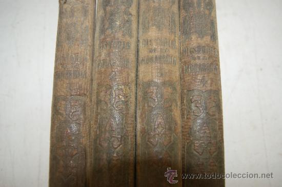 Libros antiguos: 4 tomos, Historia de la monarquia en Europa. 1860. - Foto 3 - 35482759