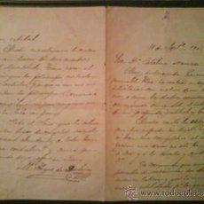 Libros antiguos: 1902 CARTA DEL OBISPO DE BADAJOZ A UNA FELIGRESA. Lote 35300858