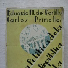 Libros antiguos: HISTORIA POLITICA DE LA PRIMERA REPUBLICA ESPAÑOLA.264. Lote 35577282