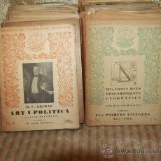 Libros antiguos: 2799- COLECCION POPULAR BARCINO. 1935. LOTE DE 34 NUMEROS. VER DESCRIPCION. . Lote 36394751