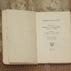 Libros antiguos: 3137- TARRACO QUANTA FUIT... PUBLICACION DEL SINDICATODE INICIATIVA ATRACCION DE FORASTEROS. 1936.. Lote 37210726