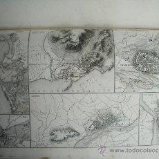 Libros antiguos: 1864-ALGECIRAS.FERROL.TALAVERA.BAILÉN.ZARAGOZA.TARRAGONA.CADIZ.TORTOSA.LLEIDA.CIUDAD RODRIGO.BADAJOZ. Lote 37271418