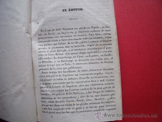 Libros antiguos: HISTORIA DE NAPOLEON.-90 GRABADOS AL ACERO.-AÑO 1839. - Foto 4 - 37615621