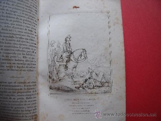 Libros antiguos: HISTORIA DE NAPOLEON.-90 GRABADOS AL ACERO.-AÑO 1839. - Foto 6 - 37615621