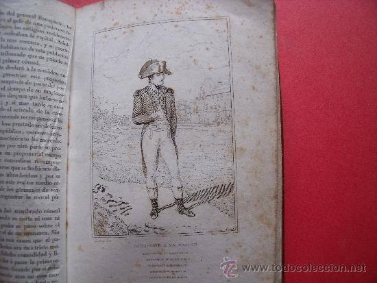 Libros antiguos: HISTORIA DE NAPOLEON.-90 GRABADOS AL ACERO.-AÑO 1839. - Foto 7 - 37615621