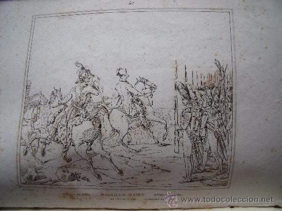 Libros antiguos: HISTORIA DE NAPOLEON.-90 GRABADOS AL ACERO.-AÑO 1839. - Foto 9 - 37615621