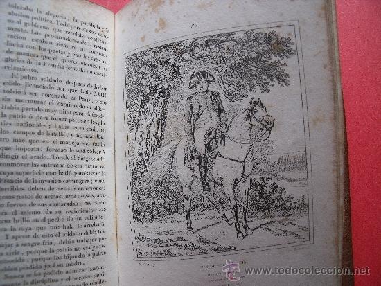 Libros antiguos: HISTORIA DE NAPOLEON.-90 GRABADOS AL ACERO.-AÑO 1839. - Foto 10 - 37615621
