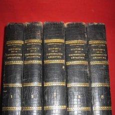 Libros antiguos: HISTORIA DE LA CONFEDERACIÓN ARGENTINA. 1911.. Lote 37761665