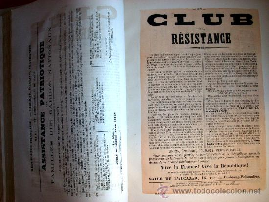 Libros antiguos: LA COMUNA DE PARIS - LA COMMUNE - LES MURAILLES POLITIQUES - 1874 - 2 VOLUMENES - Foto 14 - 37801223