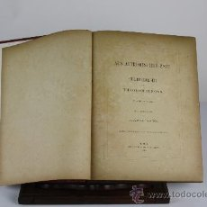 Libros antiguos: 6066 - AUS ALTRÖMISCHER ZEIT CULTUEBILDER. THEODOR SIMONS. EDIT. PAETEL 1878.. Lote 38510240