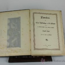 Libros antiguos: 6068- PARCIBAL EINE HELDENSAGE IN 12 BILDERN. AUGUST SPIELK. EDIT. ALBERT 1888.. Lote 38510692