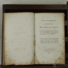 Libros antiguos: 3949- JUICIO DE RESIDENCIA DEL GENERAL MIGUEL TACON. VV.AA. IMP. A. WALKER. FILADELFIA 1839.. Lote 39701009