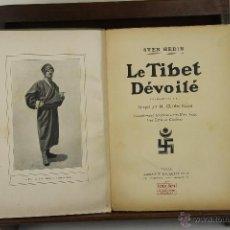 Libros antiguos: 3953- LE TIBET DEVOILE. SVEN HEIDIN. LIB. HACHETTE. 1910.. Lote 39714059