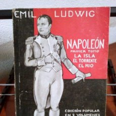 Libros antiguos: EMIL LUDWIG. NAPOLEÓN. DOS TOMOS. 1930. Lote 39971499
