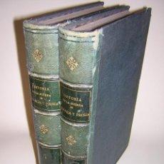 Alte Bücher - 1871 - DON LUIS CARRERAS - HISTORIA DE LA GUERRA DE FRANCIA Y PRUSIA EN 1870 - LÁMINAS Y MAPAS - 40656173