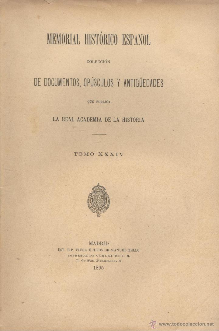 Libros antiguos: Andrés MURIEL. Historia de Carlos IV. 6 vols. (Completo). Madrid, 1893-1895. S5 - Foto 2 - 40794347