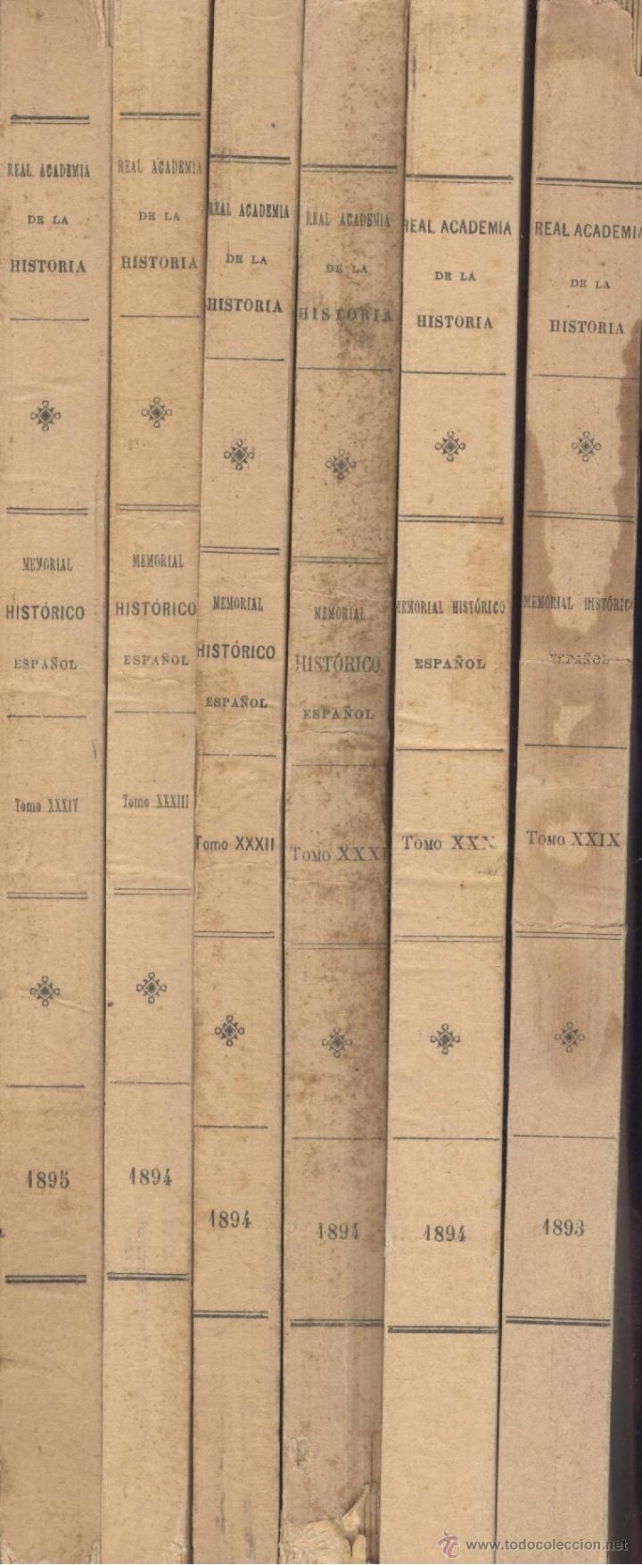 Libros antiguos: Andrés MURIEL. Historia de Carlos IV. 6 vols. (Completo). Madrid, 1893-1895. S5 - Foto 3 - 40794347
