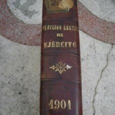 Libros antiguos: COLECCIÓN LEGISLATIVA DEL EJÉRCITO, 1901. Lote 41499733