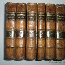 Libros antiguos: ROBERTSON, W.: THE HISTORICAL WORKS OF WILLIAM ROBERTSON. COMPLETO EJEMPLAR DE SEIS VOLÚMENES. 1813. Lote 41630459