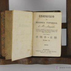 Libros antiguos: D-129. COMPENDIO DE HISTORIA UNIVERSAL. IMP. EUSEBIO AGUADO. 1831. TOMO XI. . Lote 41940272