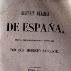 Libros antiguos: HISTORIA GENERAL DE ESPAÑA, TOMO V (DON MODESTO LAFUENTE) MADRID, 1851. Lote 41959635