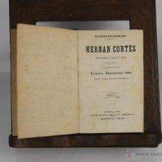 Libros antiguos: D-288. HERNAN CORTES, DESCUBRIMIEBTO Y CONQUISTA DE MEXICO. VV.AA. EDIT. MANINI. 1868. 4 VOL. . Lote 42386332