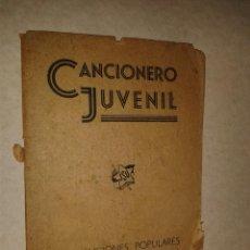 Libros antiguos: CANCIONERO JUVENIL J.S.U., 63 PAGINAS CON ILUSTRACIONES, REPÚBLICA . Lote 42387808