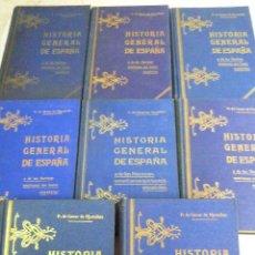 Libros antiguos: L-136. HISTORIA GENERAL DE ESPAÑA Y DE LAS NACIONES AMERICANAS QUE FUERON ESPAÑOLAS. 8 TOMOS. 1920.. Lote 138632560