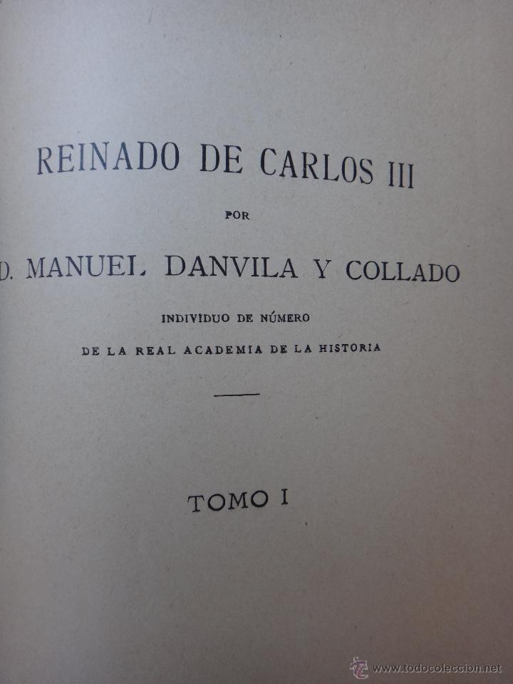 Libros antiguos: LIBRO HISTORIA GENERAL DE ESPAÑA , REINADO DE CARLOS III , 1894 , EDIT EL PROGRESO , ORIGINAL - Foto 3 - 43442392